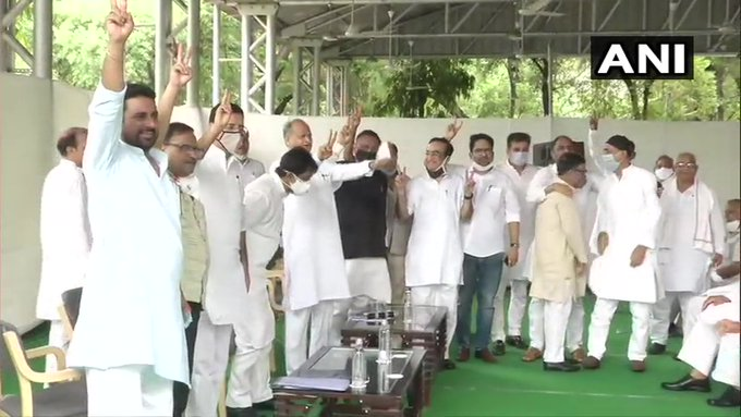 Rajasthan Live Updates: Congress MLAs Taken To Jaipur Hotel; Party Calls Another Meeting On Tuesday