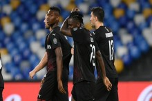 Napoli 2-2 Milan: Franck Kessie Penalty Salvages Draw For 10-Man Rossoneri