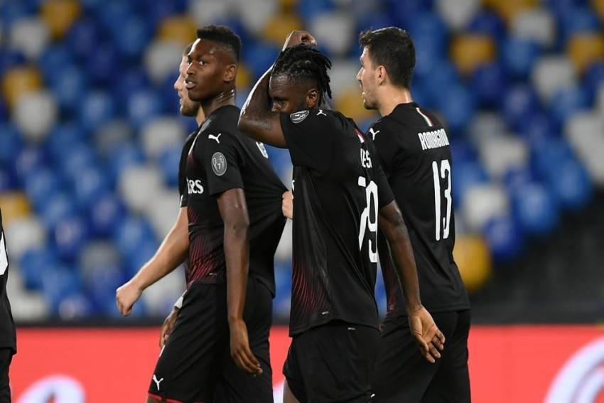 Napoli 2-2 Milan: Franck Kessie Penalty Salvages Draw For 10-Man Rossoneri