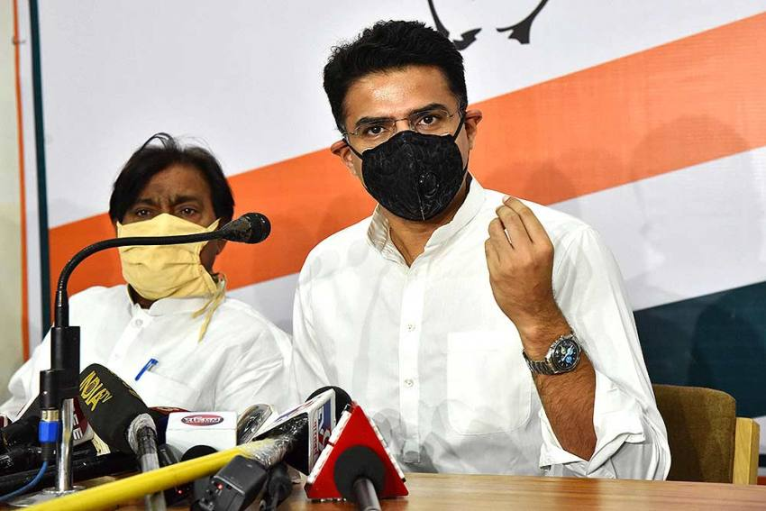 Sachin Pilot-loyalist MLAs Demand Floor Test In Rajasthan Assembly