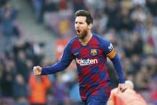 Lionel Messi's Goals Shortfall Not A Concern For Barcelona Coach Quique Setien