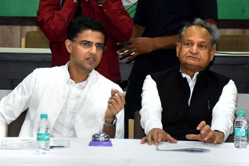 Ashok Gehlot Alleges Sachin Pilot Involved In Horse-trading, Says Congress Has Proof