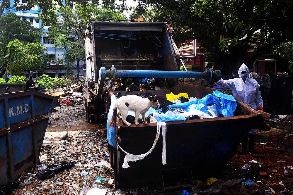 Why Coronavirus Outbreak Is Piling Pressure On India's Biomedical Waste Disposal System