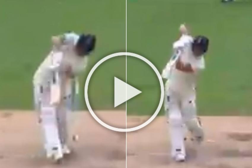 ENG Vs WI, 2nd Test: Ben Stokes Hits Outrageous Six Over Long On With Mere Punch - WATCH