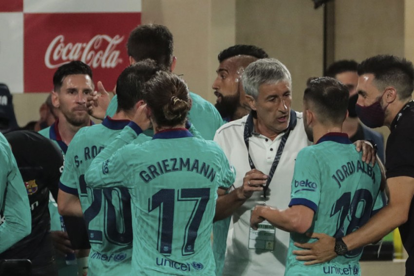 Lionel Messi Was Right To Sound Barcelona Warning, Says Quique Setien