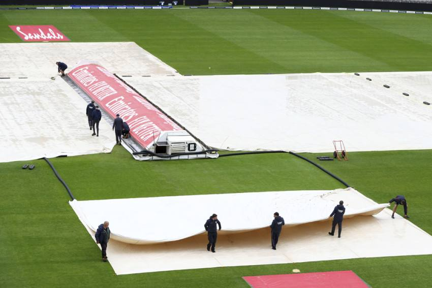 ENG Vs WI, 2nd Test: Day Three At Old Trafford Washed Out