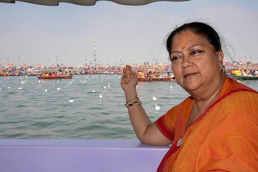 'People Paying For Discord Within Congress': Vasundhara Raje's First Reaction On Rajasthan Crisis