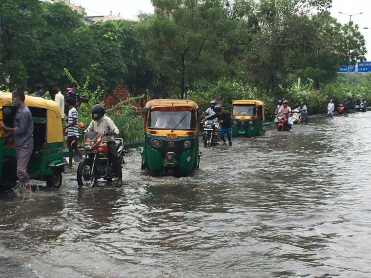 One Person Dead After Heavy Rains Leave Parts Of Delhi Inundated