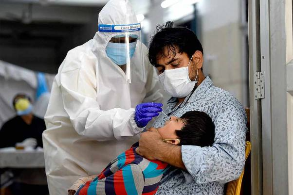 India Records Over 20,000 Covid Cases In 24 Hours, Death Toll Reaches 18,204