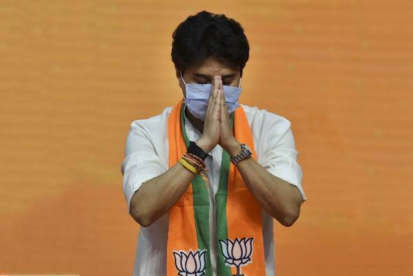 <em>'Tiger Abhi Zinda Hai</em>': Jyotiraditya Scindia Tells Congress Leaders 'Maligning His Image'