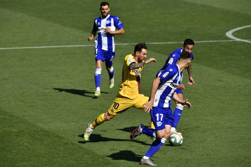 Deportivo Alaves 0-5 Barcelona: Lionel Messi Shines As Barca Show What Might Have Been