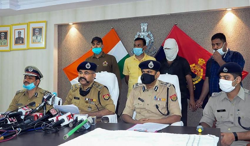 Kanpur Ambush: UP Police Arrest Slain Gangster Vikas Dubey's Close Aide, Accomplice