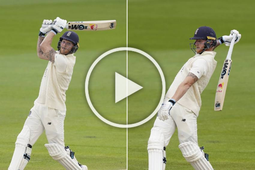 ENG Vs WI, 2nd Test: Ben Stokes Destroys West Indies With A Fiery Knock - WATCH