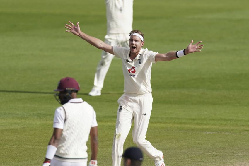 ENG Vs WI, 2nd Test: Brilliant Stuart Broad Gives England Hope Of Old Trafford Triumph