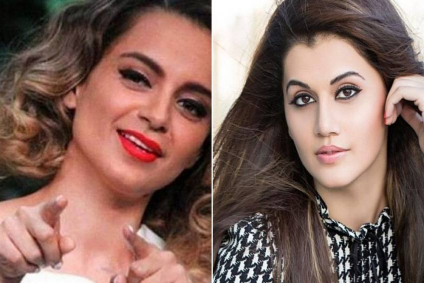 In Twitter Spat, Kangana Ranaut Accuses Taapsee Pannu Of Deviating From Sushant's Death