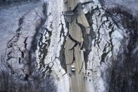 Powerful 7.8 Earthquake Hits Alaska Seas, Tsunami Warning Issued