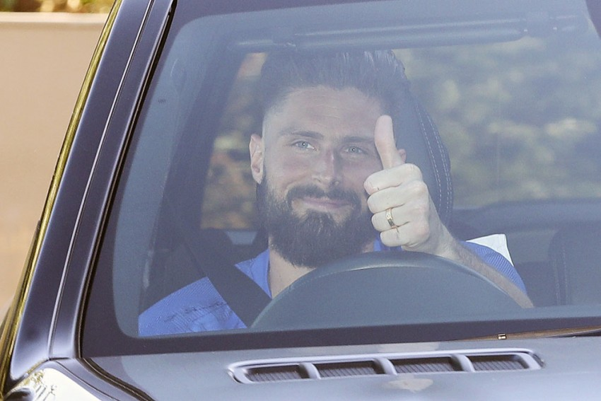 Olivier Giroud Set On Breaking France Records As He Targets Michel Platini Goal Tally