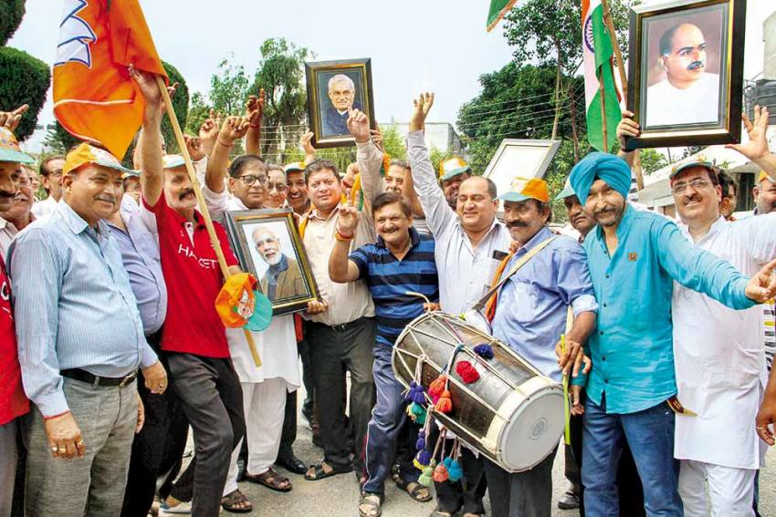 'Doormat Of Central Leaders?' -- Why All Jammuites Aren't Celebrating Life Without Article 370