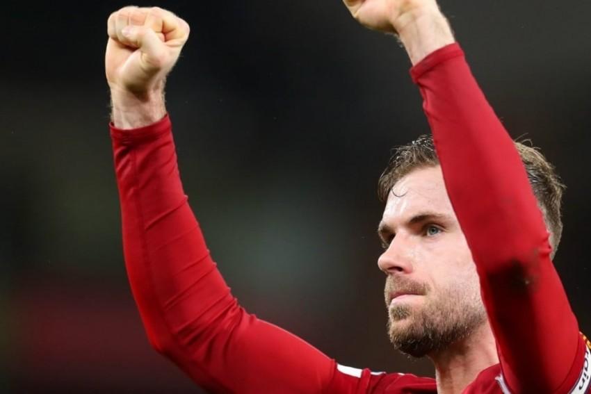 Liverpool Captain Jordan Henderson Wins FWA Footballer Of The Year Award