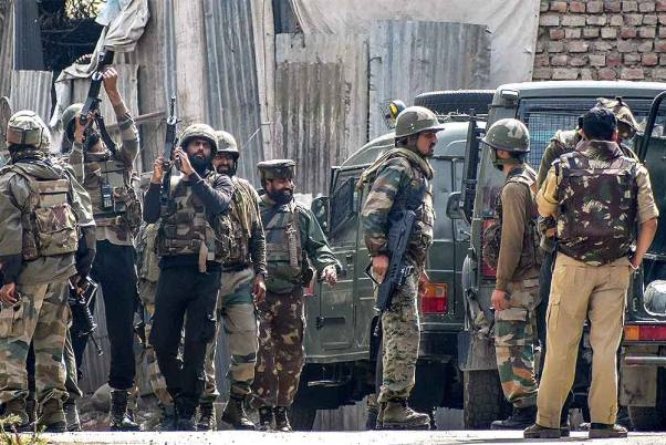 2 Militants Killed In Gun Battle With Security Forces Near J&K's Srinagar