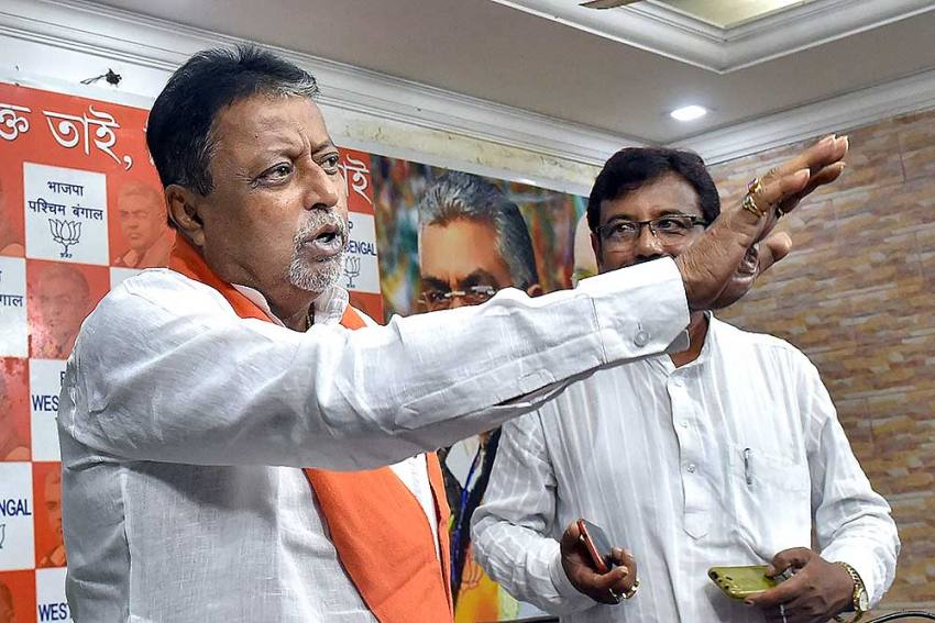 'I Am With BJP': Mukul Roy Labels Reports Of Him Joining TMC As 'Malicious And Misleading'