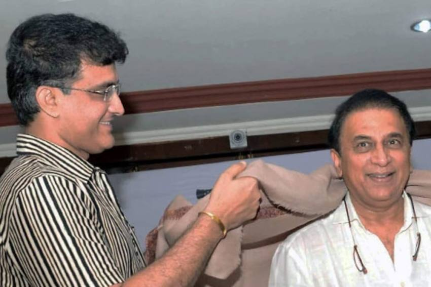 Sunil Gavaskar Backs Sourav Ganguly To Carry On As BCCI President Till End Of 2023 World Cup