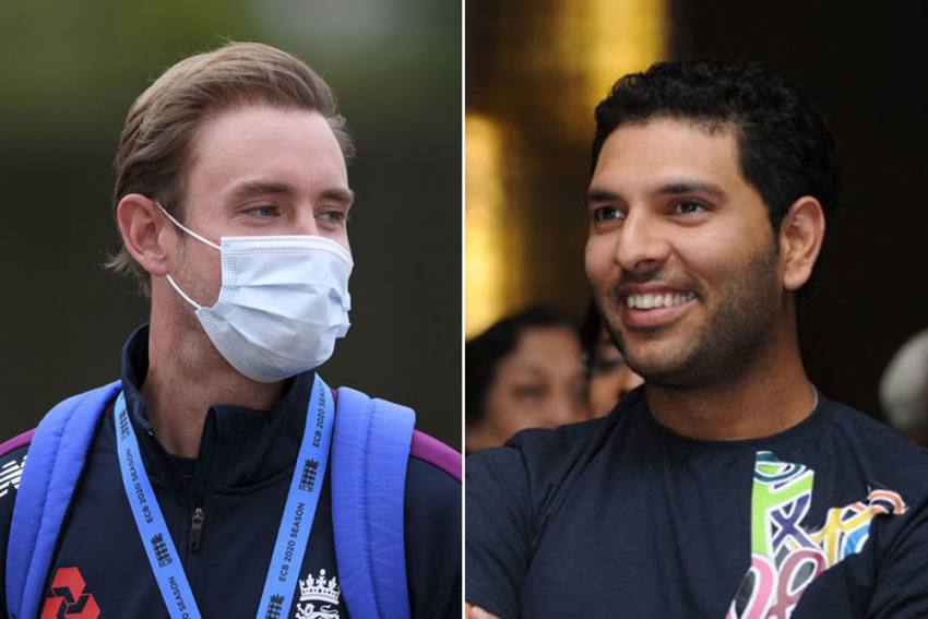 Stuart Broad Is A Legend: Yuvraj Singh Tells Fans To Look Beyond Six Sixes As England Pacer Breaches 500-Wicket Mark
