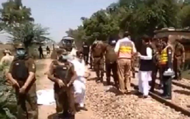 29 People, Majority Pakistani Sikh Pilgrims, Killed After Bus Collides With Train