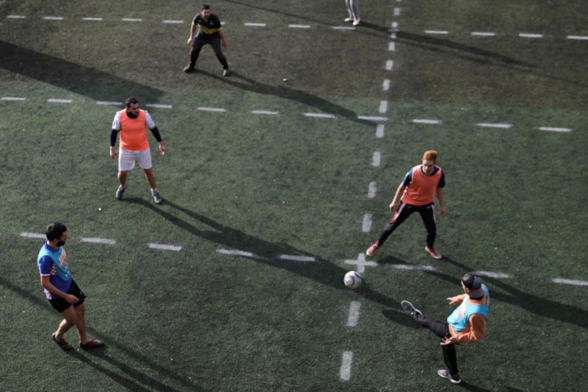Human Foosball: New Form Of Football Developed In Argentina For Coronavirus Pandemic