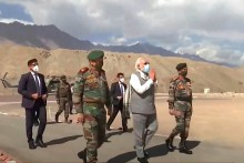 'Bravery Is Prerequisite For Peace': PM Modi To Troops In Ladakh