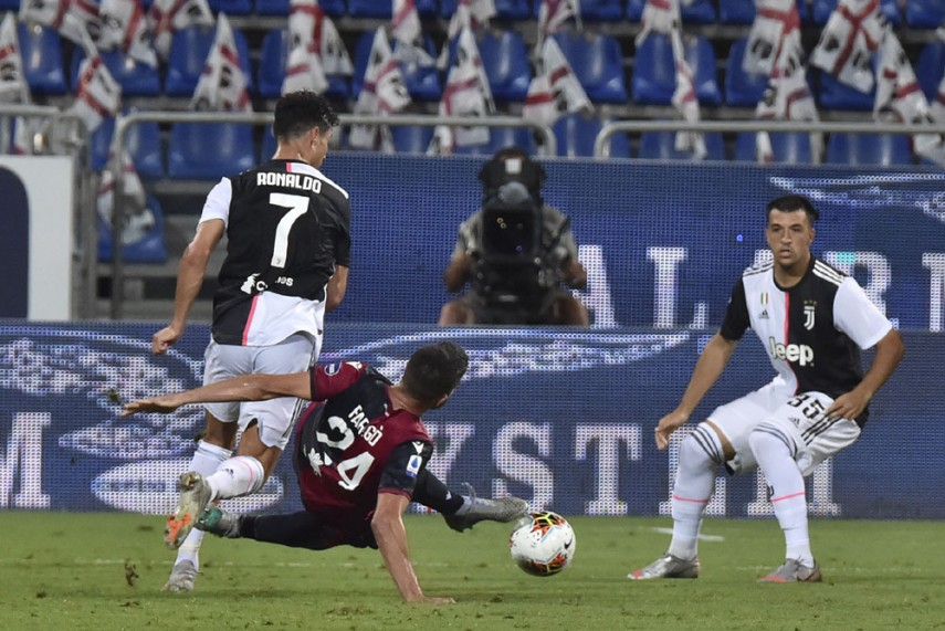 Cagliari Stun Champions elect Juventus As Cristiano Ronaldo Endures Frustrating Night