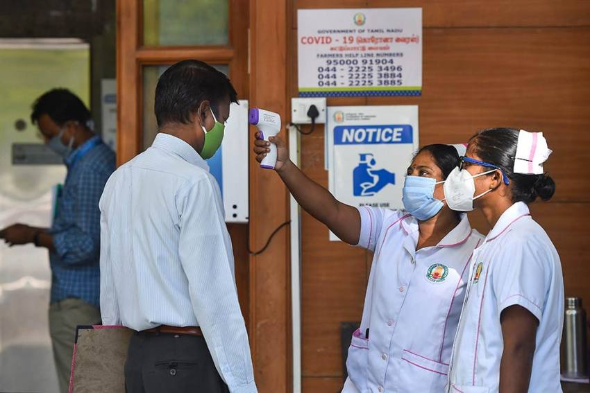 Single-day Surge Of Over 55,000 COVID-19 Cases Recorded For 1st Time; India's Tally Crosses 16 Lakh