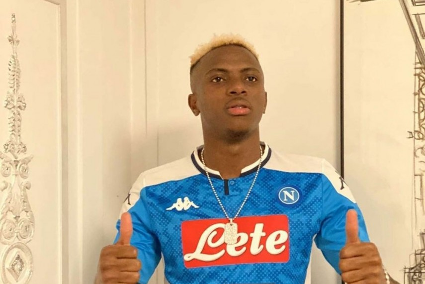 Napoli Sign Lille Striker Victor Osimhen In Reported Club Record Deal