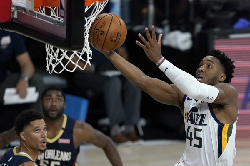NBA Returns As Jazz Edge Pelicans In Orlando Bubble