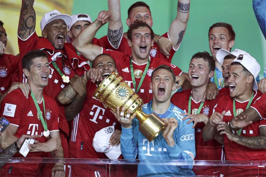 Bayer Leverkusen 2-4 Bayern Munich: Robert Lewandowski Strikes Twice To Help Secure DFB-Pokal