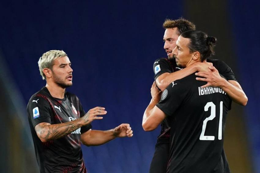 Lazio 0-3 AC Milan: Zlatan Ibrahimovic Among The Goals As Hosts' Scudetto Hopes Dented