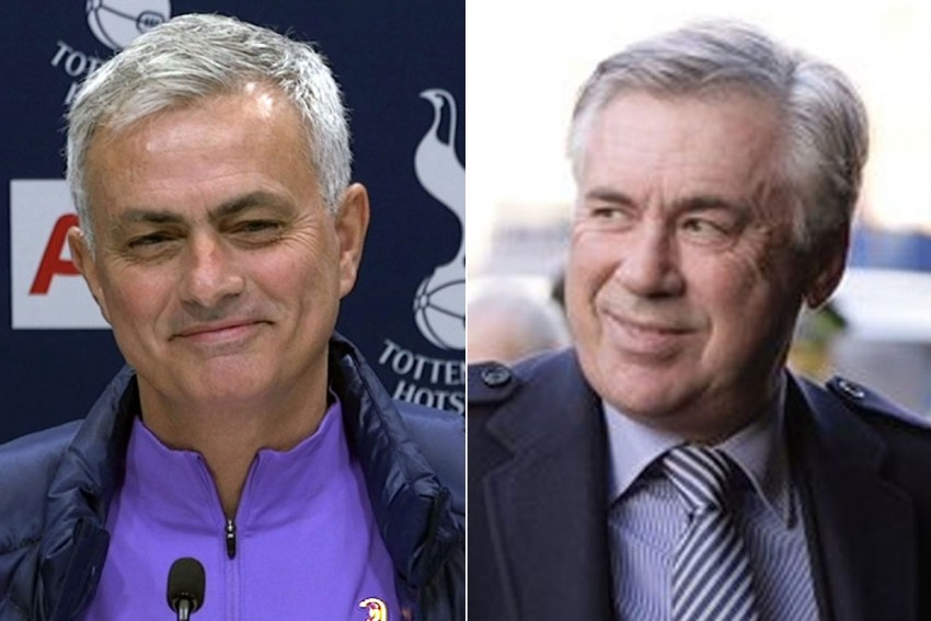 Jose Mourinho Willing To Break Social Distancing Rules For His Love Of Carlo Ancelotti