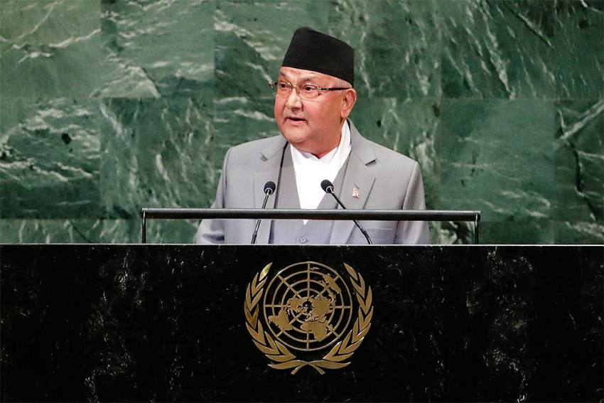 Nepal PM Oli's Future Uncertain As Ruling Party's Meeting Postponed To Wednesday