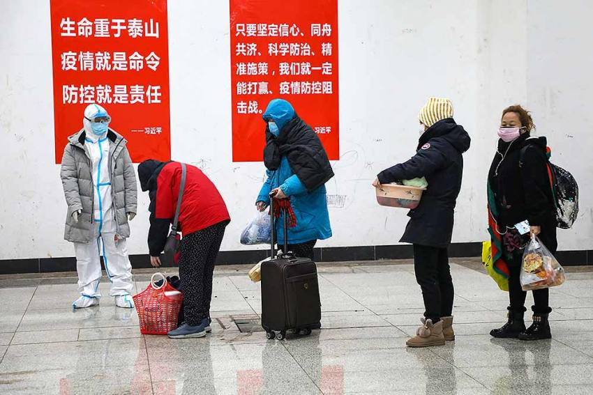 Chinese City Sounds Alert For Bubonic Plague Amid Second Wave Of Covid-19
