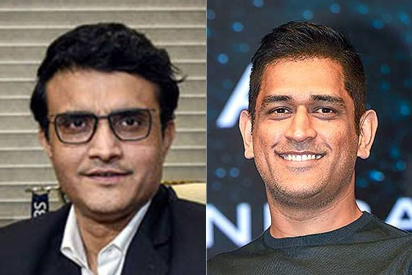 'Sourav Ganguly's Word Got MS Dhoni Picked In Indian Cricket Team' - BCCI Boss Separates Fact From Fiction