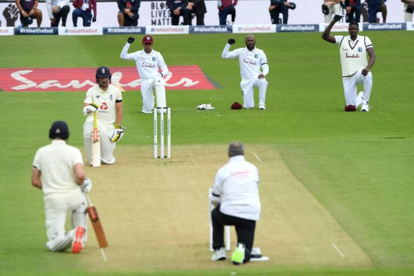 Eng Vs WI, 1st Test: Players, Umpires Take A Knee In Support Of Black Lives Matter Movement