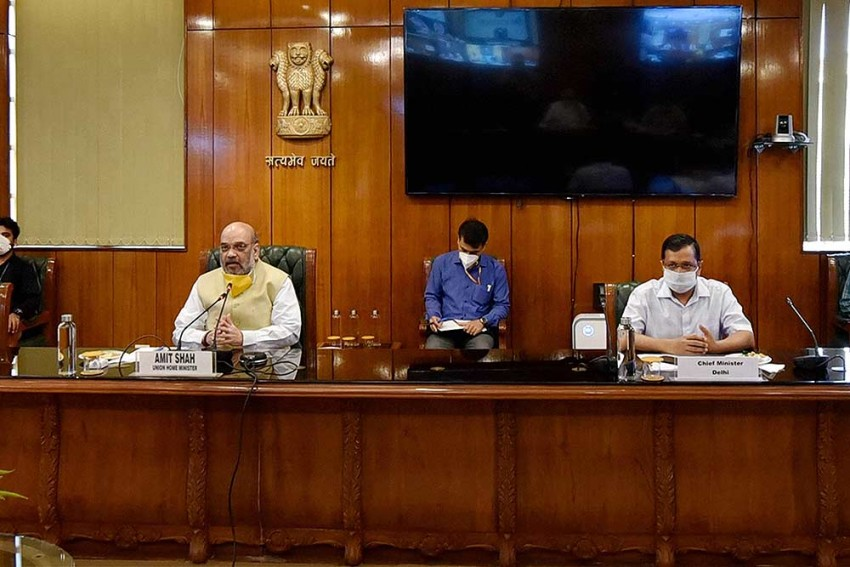 How Amit Shah's Timely Intervention Helped Delhi Govt Fight Covid-19