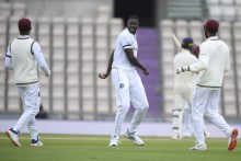 ENG Vs WI, 1st Test, Day 2: West Indies On Top, England 106/5 At Lunch