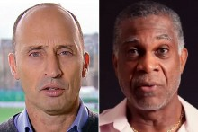 Nasser Hussain Hails Michael Holding For His Powerful Message Against Racism
