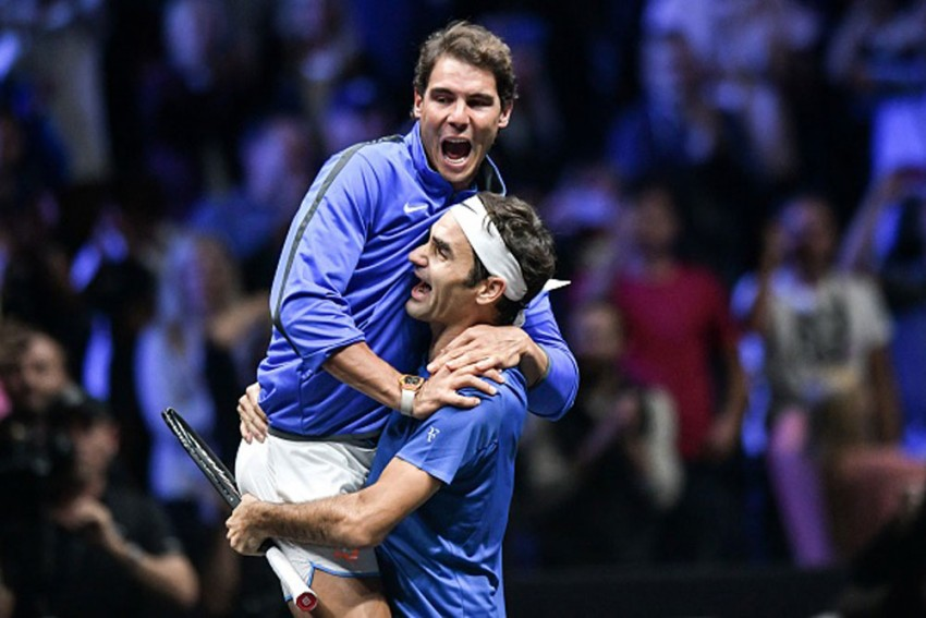 Roger Federer Saw Rival Rafael Nadal 'Grow, Right In Front Of My Eyes'