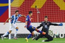Barcelona 1-0 Espanyol: Luis Suarez Strike Relegates Rivals