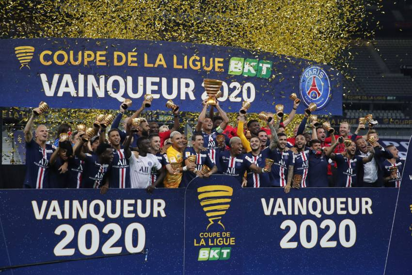 Paris Saint-Germain Complete Domestic Clean Sweep In The Last French League Cup Final
