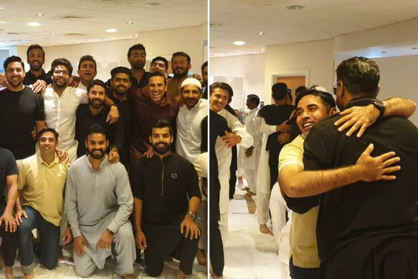 No Masks, No Social Distancing For Pakistan Cricketers As They Celebrate Eid-ul-Adha In England - See Pics