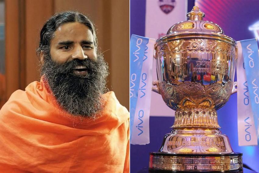 Baba Ramdev's Patanjali Ready To Bid For IPL Title Sponsorship - Report