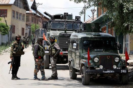 Terrorists Gun Down Two J&K Policemen Outside Srinagar